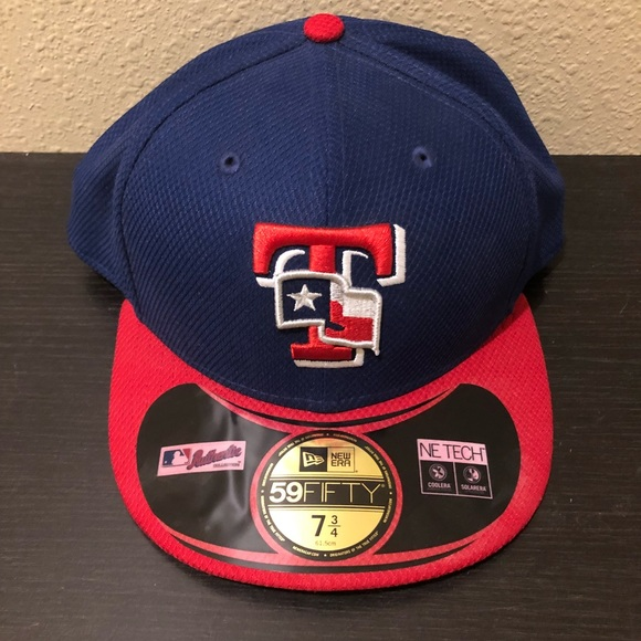 New Era 59Fifty Texas Rangers Cap 7 3 4 NWT 1ef40aed3bd5